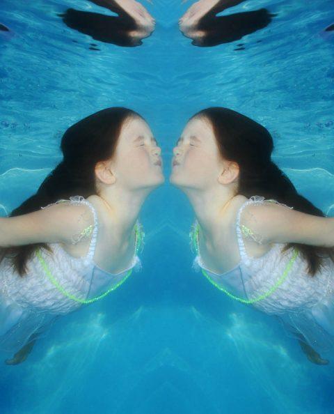 Jess miroir effect by Marie Glemot